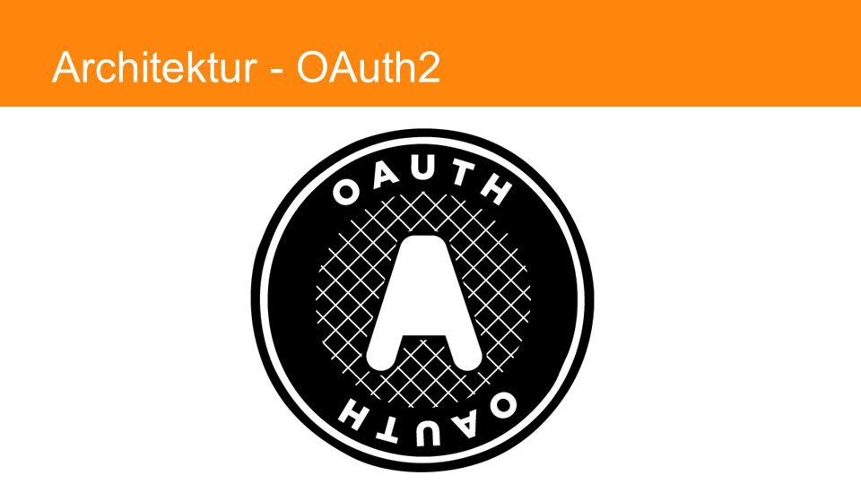 Architektur - OAuth2