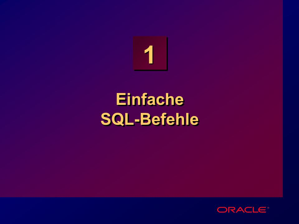 1-12 Präzedenz von Operatoren SQL> SELECT ename, sal, 12*sal+100 2 FROM emp; ENAME SAL 12*SAL+100 ---------- --------- ---------- KING 5000 60100 BLAKE 2850 34300 CLARK 2450 29500 JONES 2975 35800 MARTIN 1250 15100 ALLEN 1600 19300...