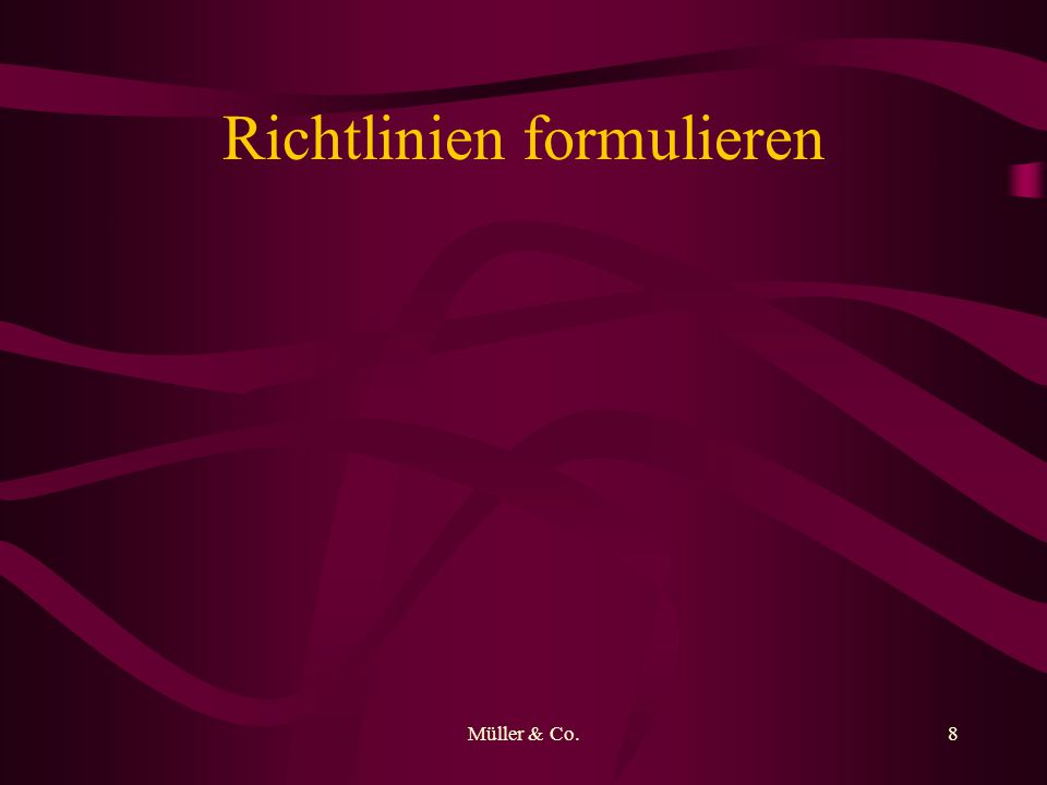 Müller & Co.9 Investmenttrends