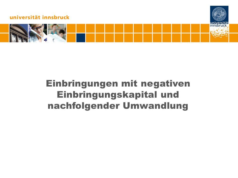 Ansässigkeit in Deutschland III (Natürliche Personen) Auffassung Beiser II  Exzessive Steuerbelastung nach der Rechtsmeinung des BMF  Veräußerung der Anteile zB 2 Jahre nach Einbringung  idR 50% (nicht 25%), da Österreich zum Einbringungszeitpunkt nach§24 iVm§33 EStG festsetzen muss (=Besteuerungsaufschub für MU-Anteile – nicht GmbH-Anteile  denn hier liegt Besteuerungsrecht nach DBA bei Deutschland) Ausnahme:§27a,§30a,§37 Abs 5 EStG  Veräußerung des KG-Anteils zB 3 Jahre nach Einbringung durch GmbH  25% KöSt und im Ausschüttungsfall 25% KESt = 43,75% auf die stillen Reserven (Grund: BWF auf Ebene der übernehmenden Körperschaft)  Gesamtsteuerbelastung: 93,75%!!.