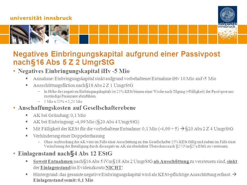 Ansässigkeit in Deutschland IV (Kapitalgesellschaften) Buchwerteinbringung BMF lässt in diesem Fall eine Buchwerteinbringung auf beiden Ebenen zu.