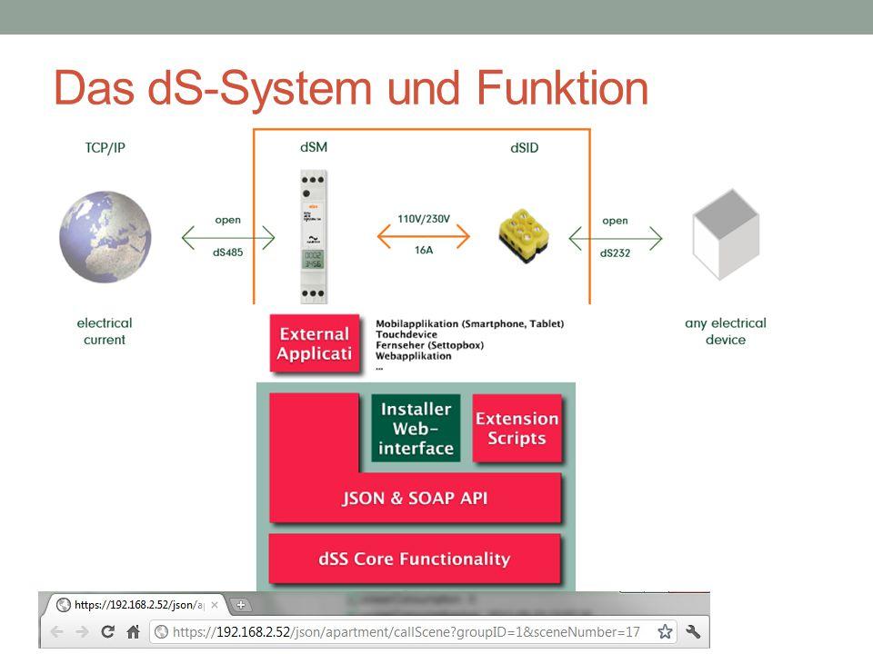 Das dS-System und Funktion