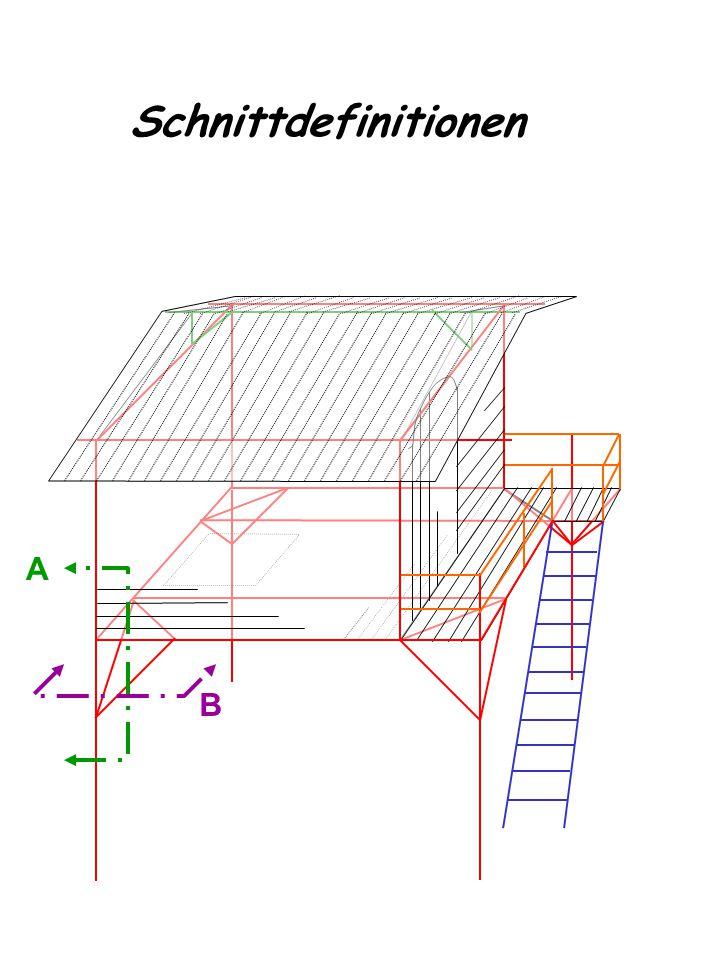 Detailzeichnungen Fachwerk von vorne (Schnitt A) 2 4 1 8 7 5 2 Grün: Befestigungselemente 9 10 11