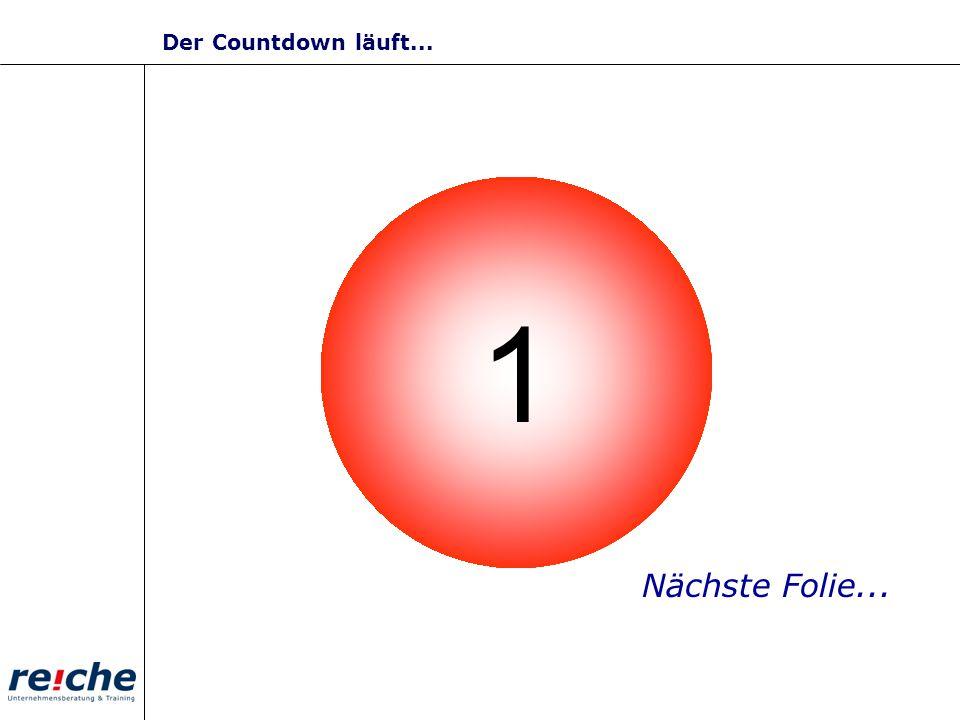 10987654321 Nächste Folie... Der Countdown läuft...