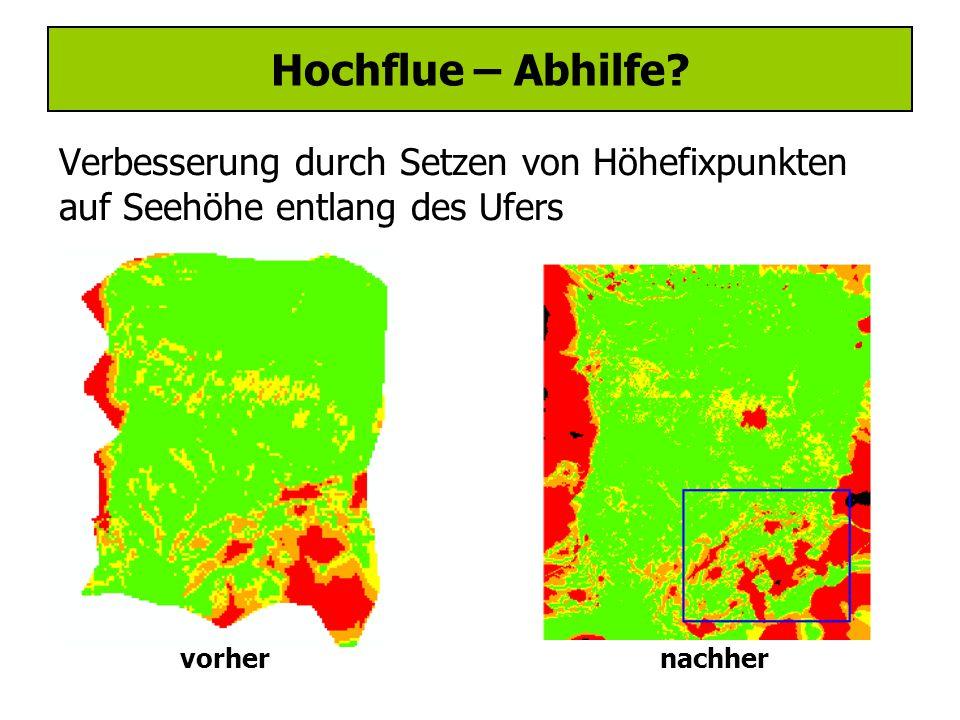 Hochflue – Abhilfe.
