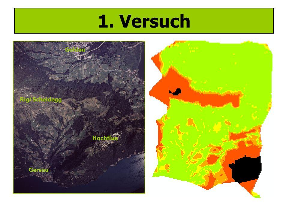1. Versuch Goldau Gersau Rigi Scheidegg Hochflue