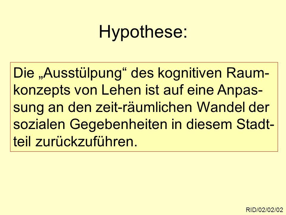RID/02/02/13 Ambivalenzen im Probanden- urteil Quelle: P. WEICHHART und N. WEIXLBAUMER, 1988.