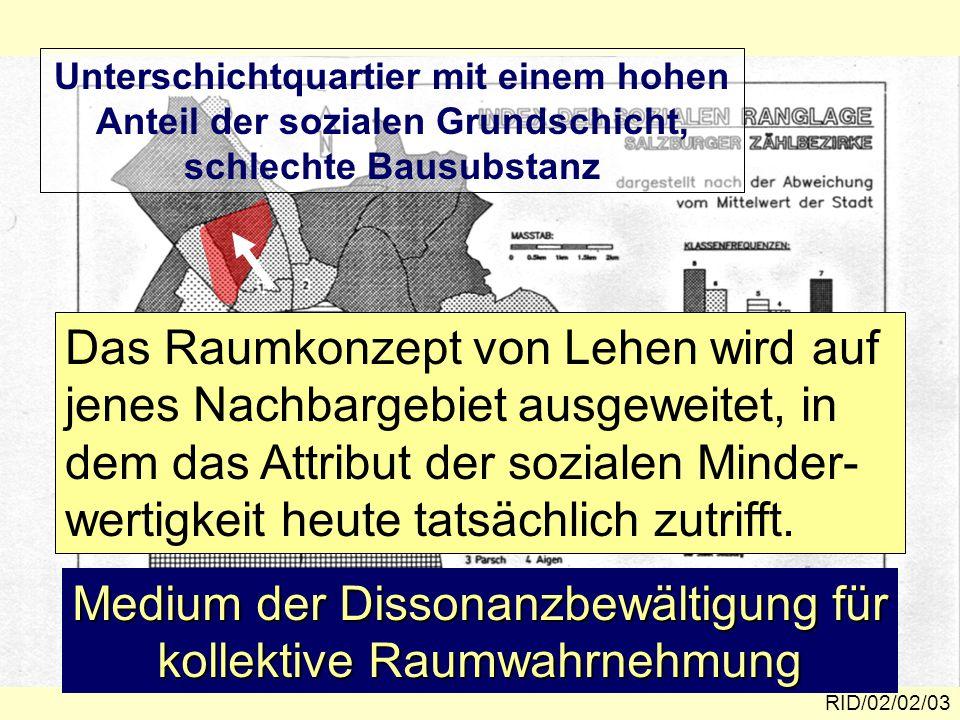 Das Profil von Lehen nach dem Bildungs- niveau RID/02/02/14 Quelle: P.