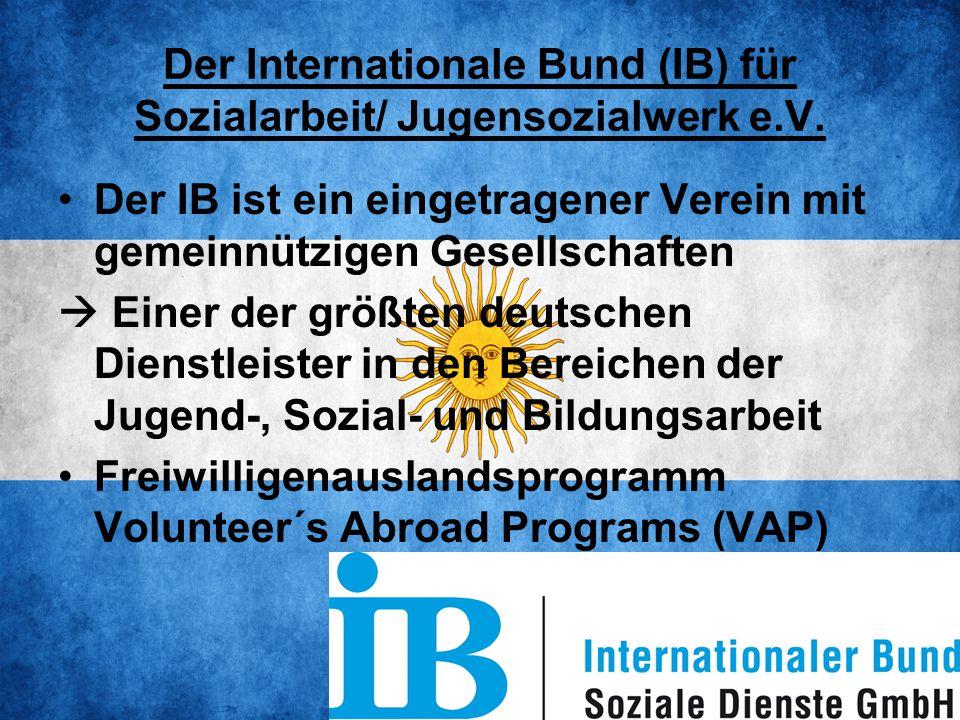 Der Internationale Bund (IB) für Sozialarbeit/ Jugensozialwerk e.V.