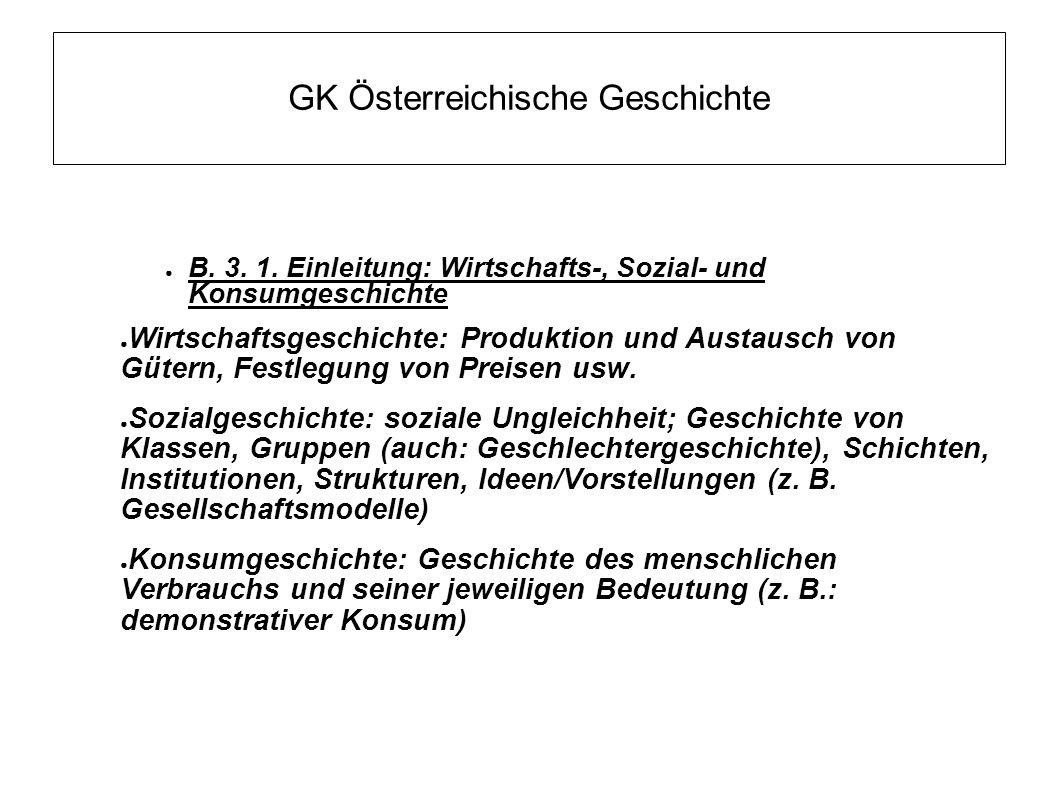 GK Österreichische Geschichte ● B. 3. 1.