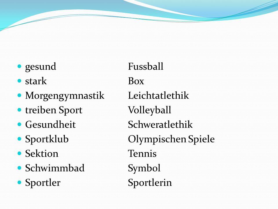 gesundFussball starkBox MorgengymnastikLeichtatlethik treiben SportVolleyball GesundheitSchweratlethik SportklubOlympischen Spiele SektionTennis SchwimmbadSymbol SportlerSportlerin