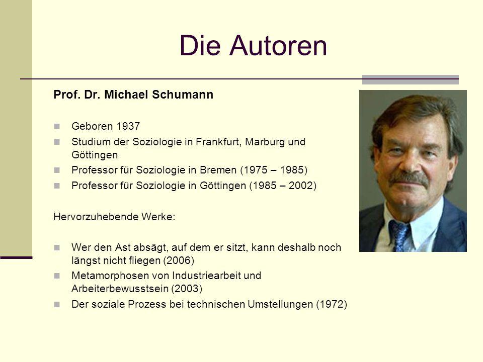 Die Autoren Prof.Dr.