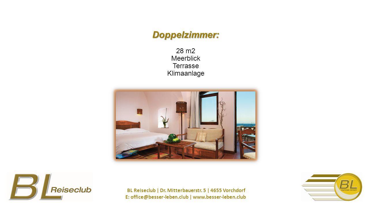 Doppelzimmer: Doppelzimmer: 28 m2 Meerblick Terrasse Klimaanlage BL Reiseclub | Dr.