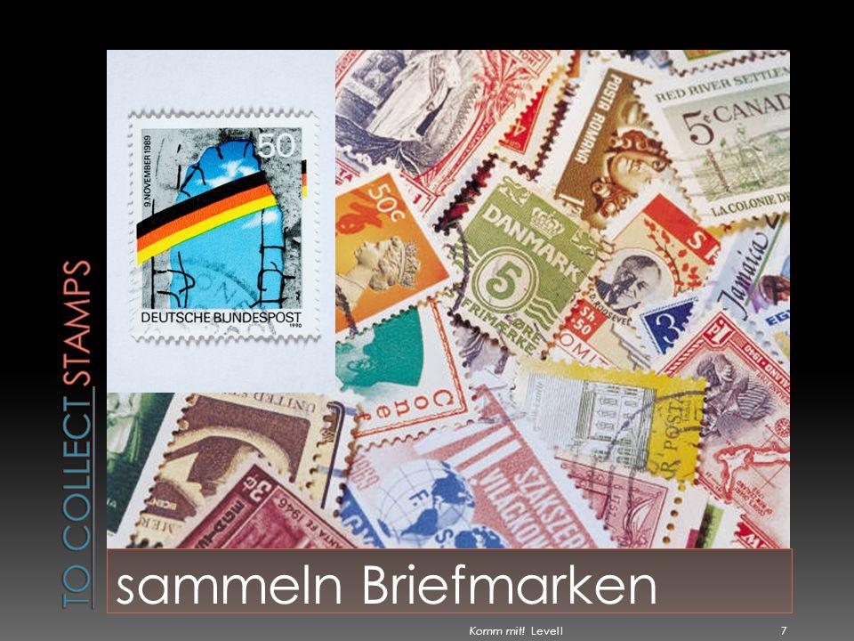 sammeln Briefmarken Komm mit! Level I 7