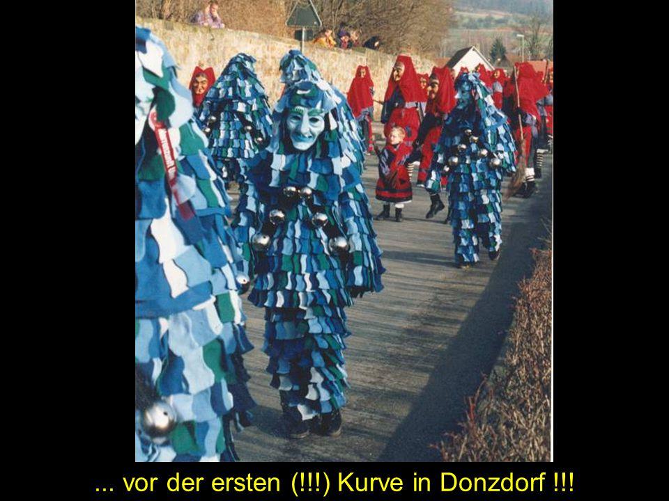 ... vor der ersten (!!!) Kurve in Donzdorf !!!