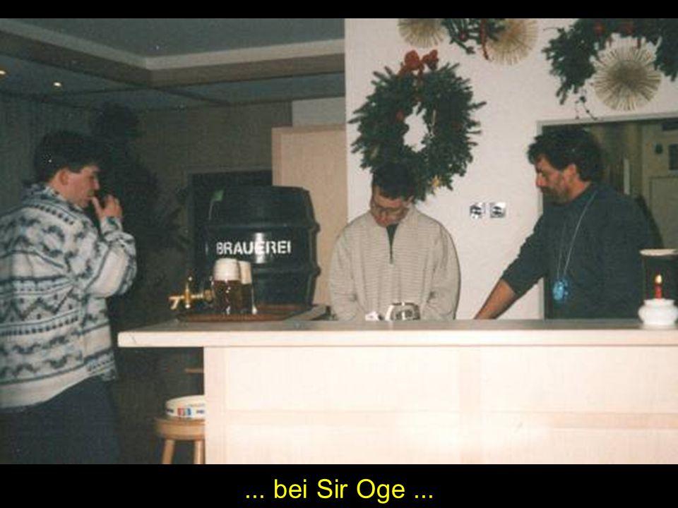 ... bei Sir Oge...