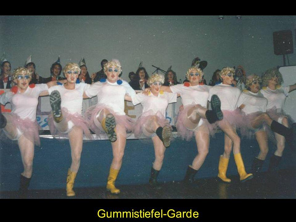 Gummistiefel-Garde