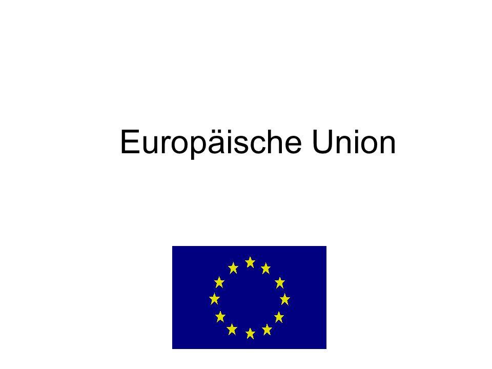 Aufbau der Europäischen Union 1.Säule Europäische Gemeinschaften (EG und EAG) Art.