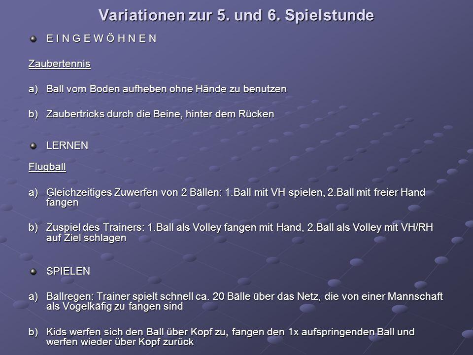 Variationen zur 5. und 6.