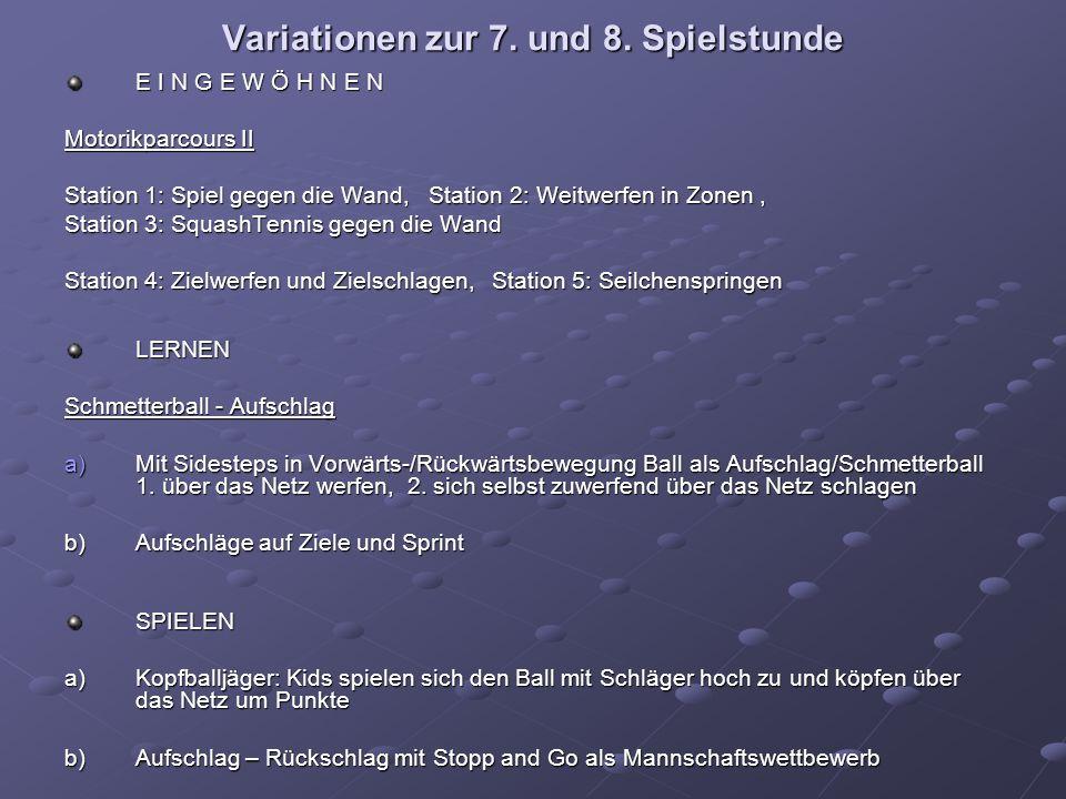 Variationen zur 7. und 8.