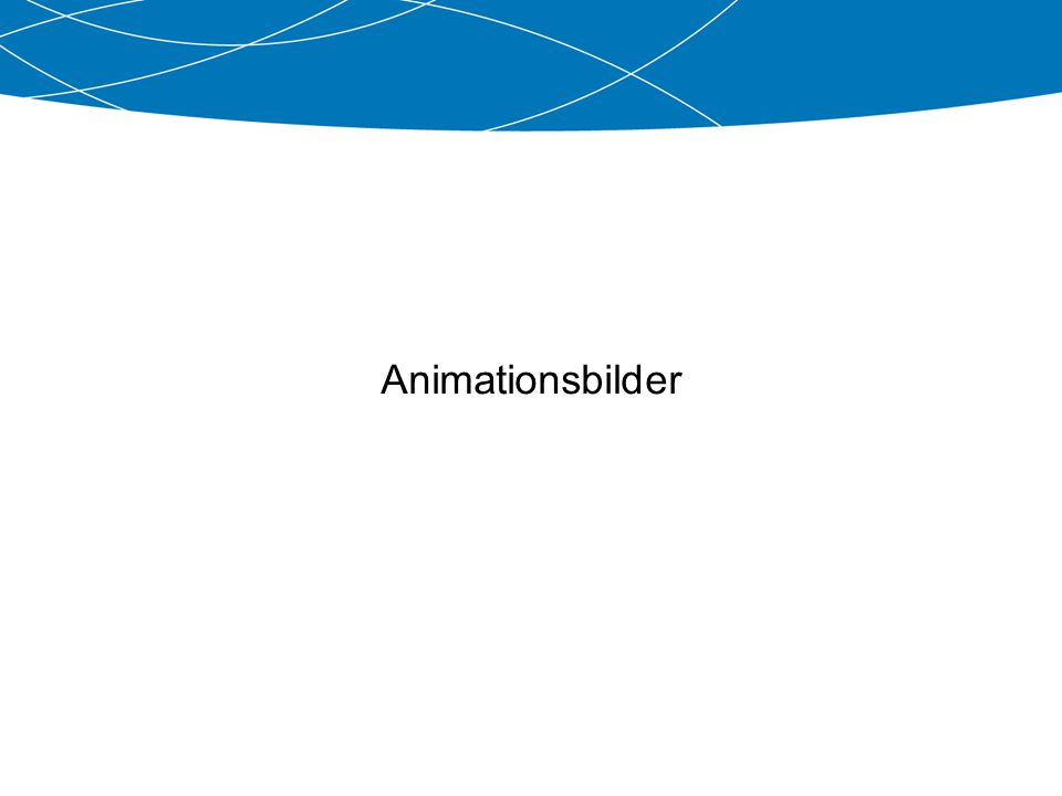 Animationsbilder