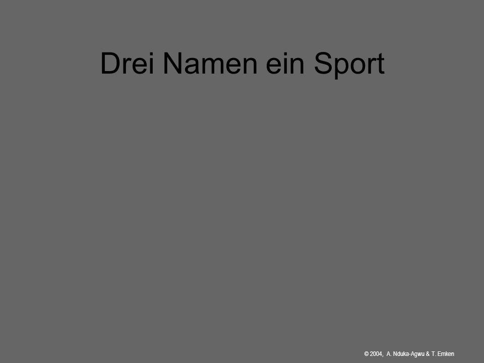 Drei Namen ein Sport HIER DEIN WOBBEBOARDBILD