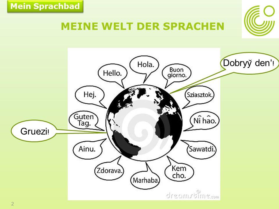 WIR LERNEN DEUTSCH SINGEN ODER RAPEN SIE MIT 13 www.goethe.de
