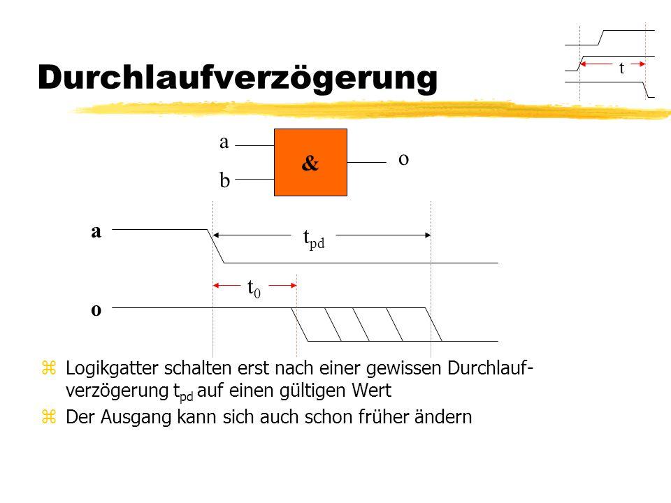 Rückkopplungen zSie funktioniert nur zuverlässig, wenn in jeder Rückkopplung ein DFF ist.