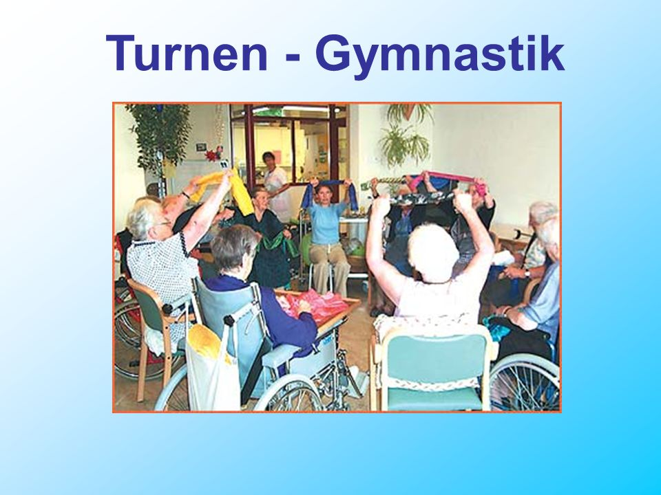 Turnen - Gymnastik