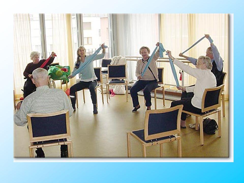 Aktivierung mit behinderten Menschen