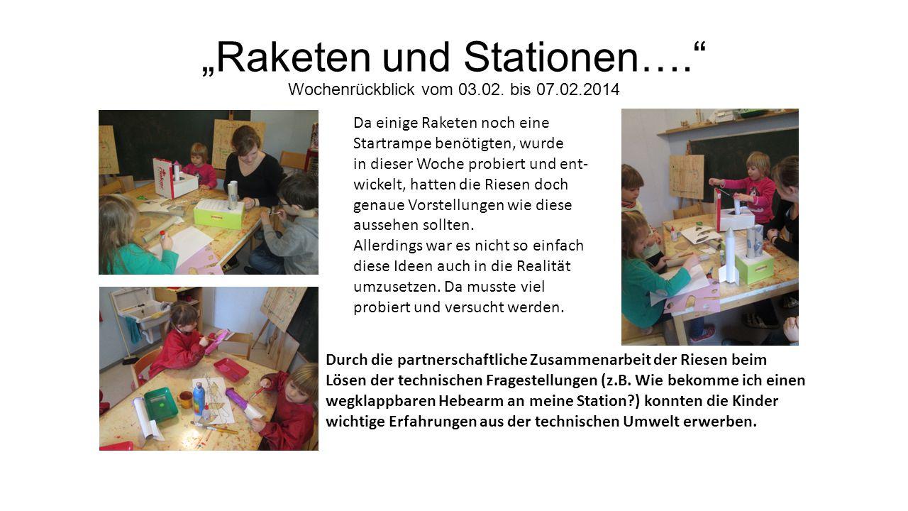 """""""Raketen und Stationen…. Wochenrückblick vom 03.02."""