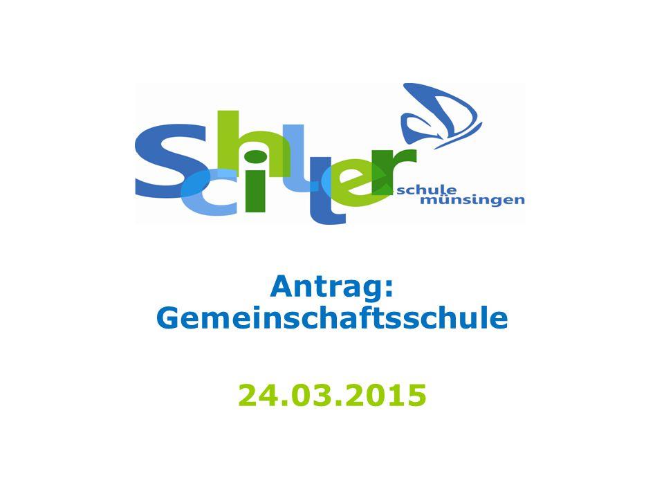 Antrag: Gemeinschaftsschule 24.03.2015