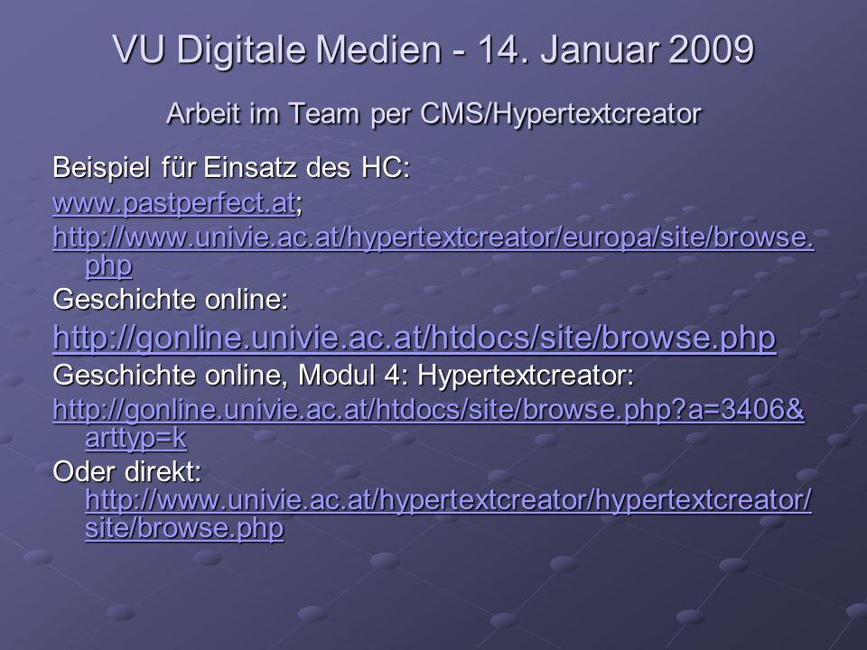 VU Digitale Medien - 14.