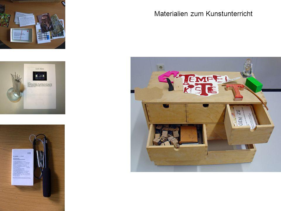 Materialien zum Kunstunterricht