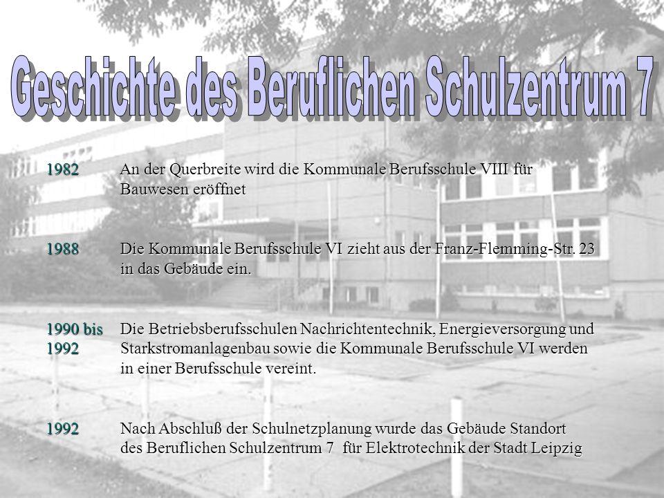 Standort An der Querbreite 8 04129 Leipzig Tel.: 0341 / 904530 Fax: 0341 / 9045310 Internet: www.bsz7-leipzig.de Stammschule Außenstelle Tauchaer Stra