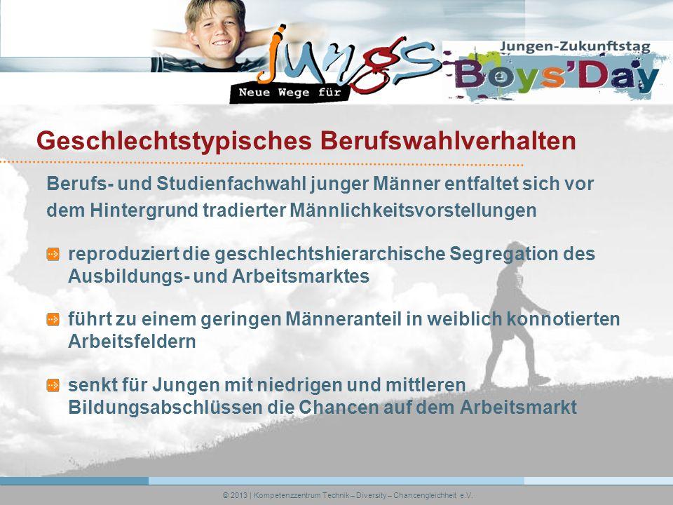 © 2013 | Kompetenzzentrum Technik – Diversity – Chancengleichheit e.V.