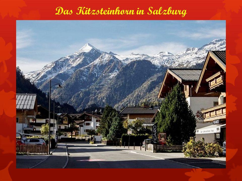 Das Kitzsteinhorn in Salzburg