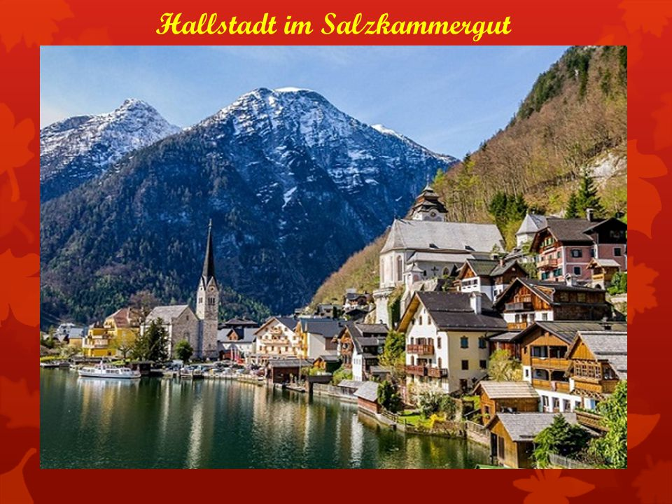 Hallstadt im Salzkammergut