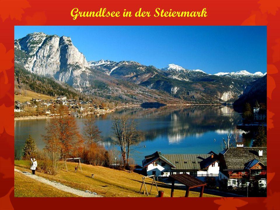 Grundlsee in der Steiermark