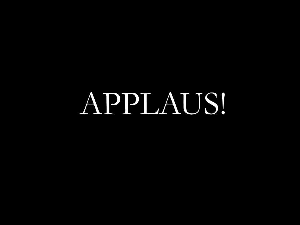 APPLAUS!