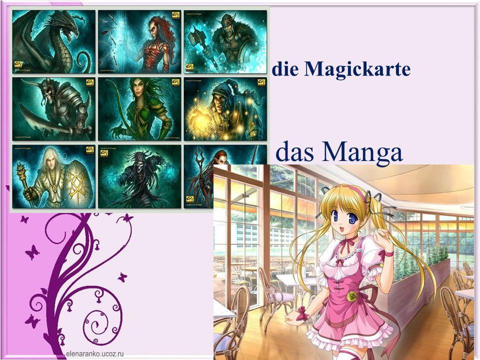 die Magickarte das Manga