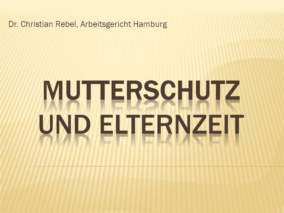 Dr. Christian Rebel, Arbeitsgericht Hamburg