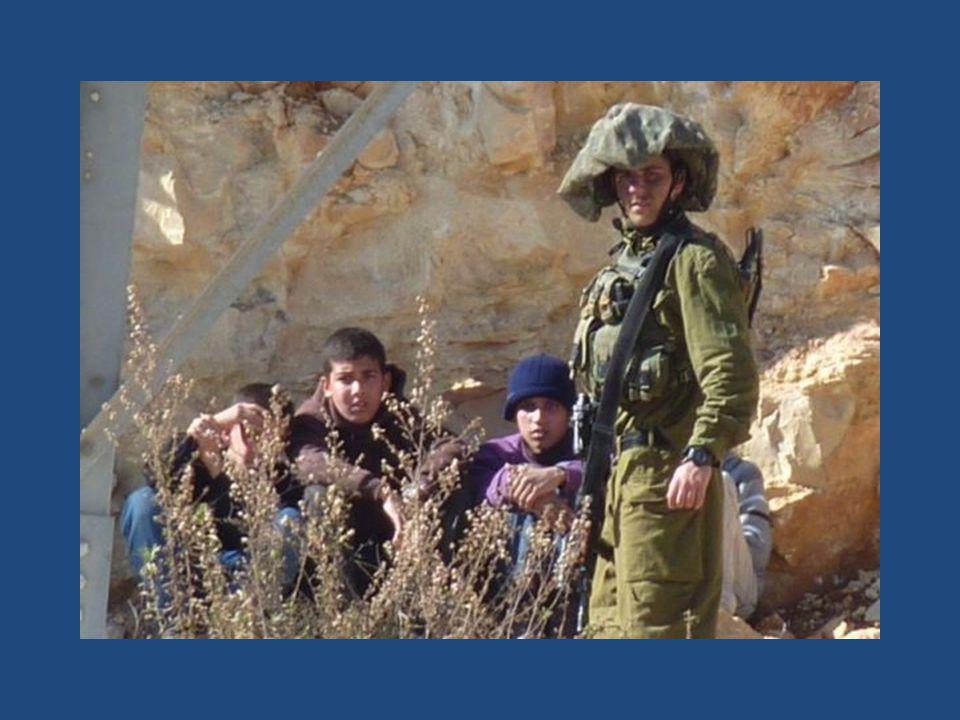 MCW August 2014: 192 Kinder in Militärhaft 48% davon in Israel inhaftiert unter Verletzung der 4.