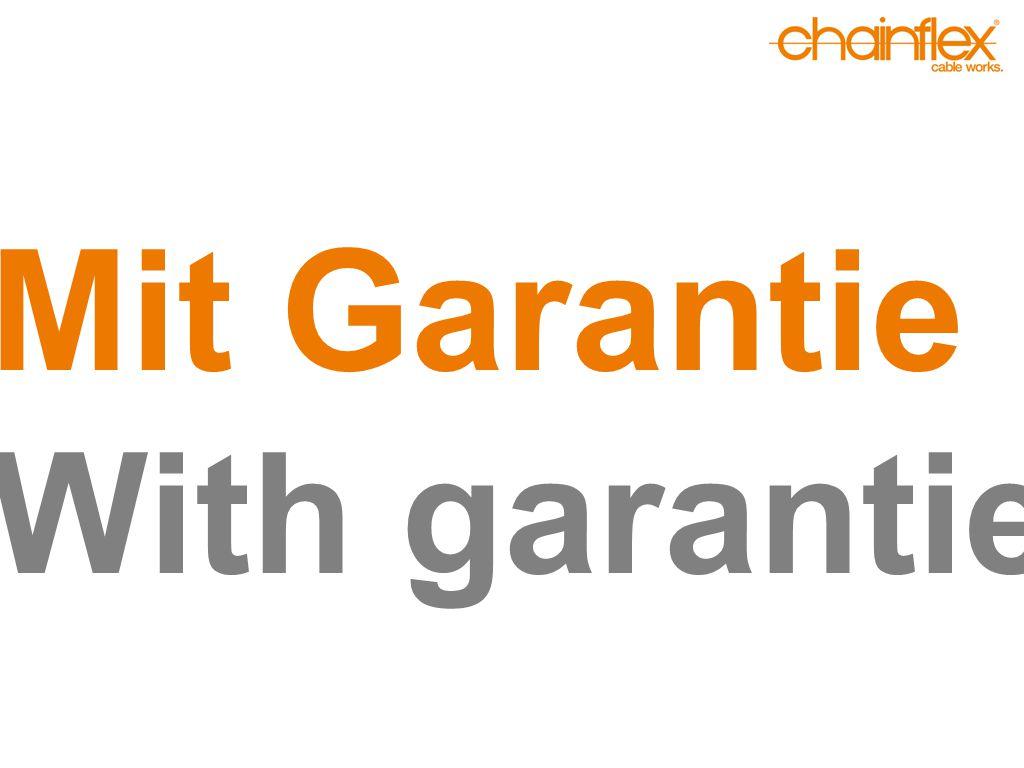 Mit Garantie With garantie