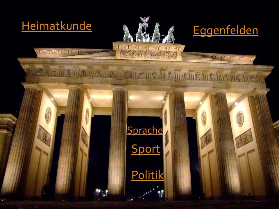 Zusammen mit dem Lehrer lernen wir die Geschichte und Kultur der Bundesrepublik Deutschland kennen.