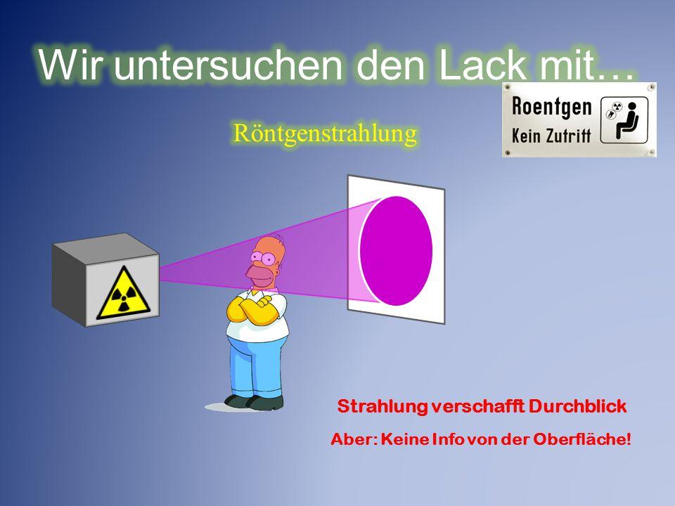 Selbstheildende LACKE: DER TEST Absichtlich produzierter SchadenNach dem Ausheilen 160°C, 15 min Beispiel 1 Beispiel 2
