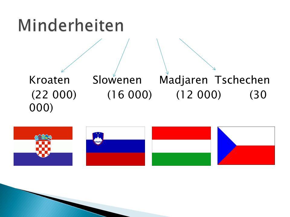 Kroaten Slowenen Madjaren Tschechen (22 000) (16 000) (12 000)(30 000)