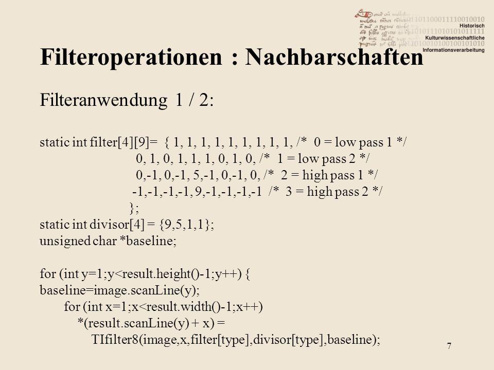 """Binäres Lesen (Qt flavour) 18 """"Lesen imageFile.seek(ifd_addr); imageFile.read((char *)buffer,n); """"Schreiben imageFile.seek(ifd_addr); imageFile.write((char *)buffer,n); """"Position merken ifdstart = imageFile.pos();"""