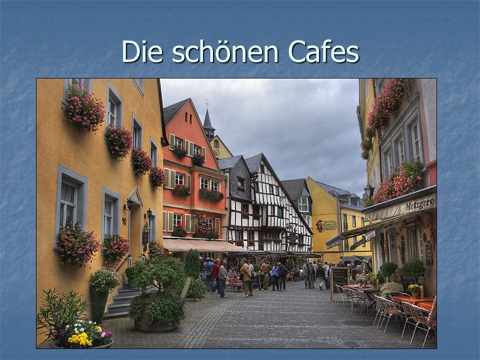 Die schönen Cafes