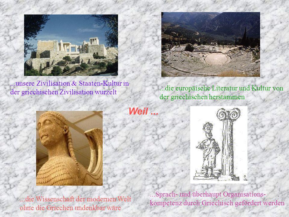  Sie fragen: Warum Griechisch